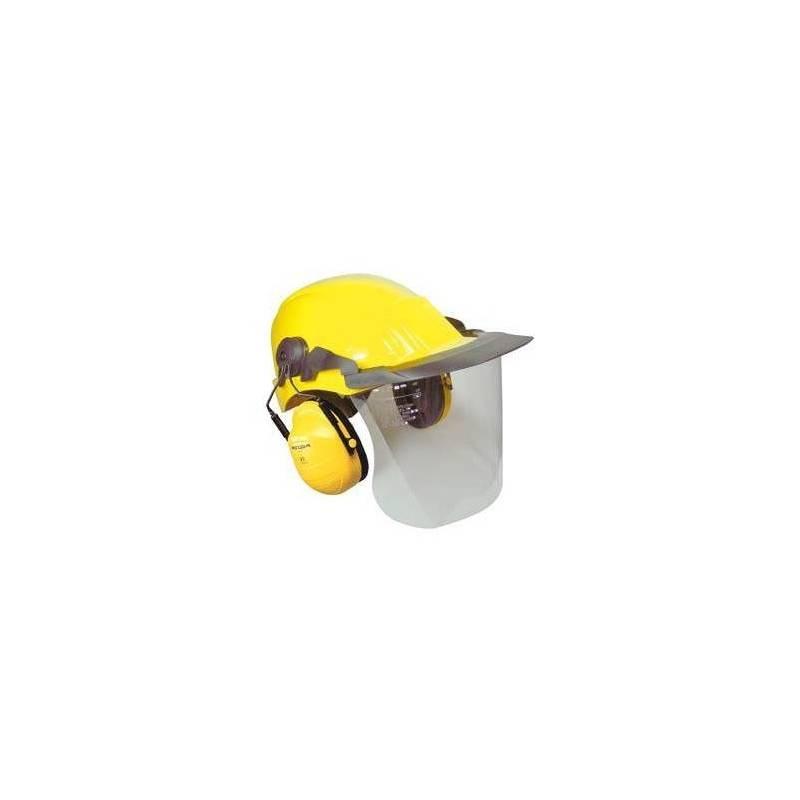 Recambio visor policarbonato dieléctrico con visera