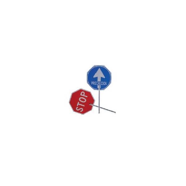 Paleta de obra Stop-Paso