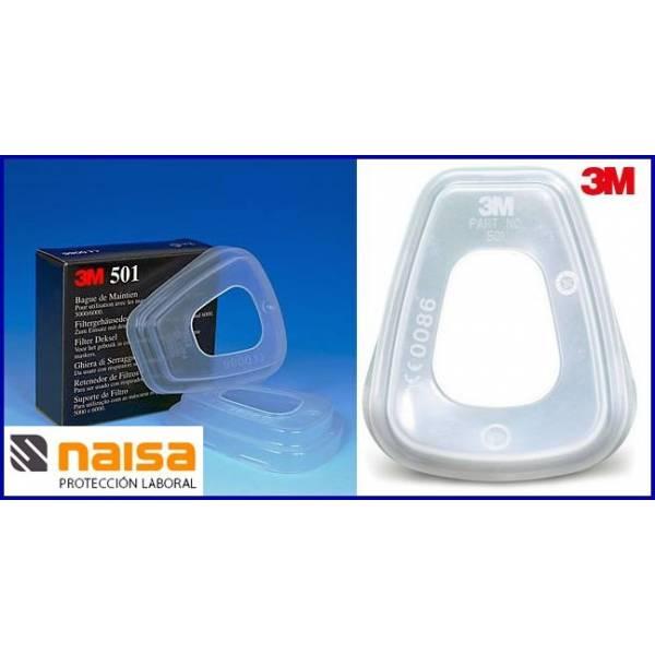 3M 501 Retenedor de filtros S5900. Caja 2 uds.