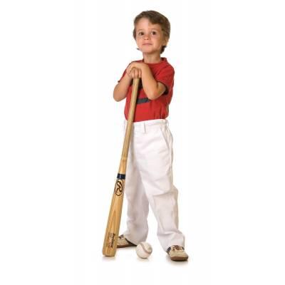 Pantalón de niño con cintura elástica, dos bolsillos laterales rajados