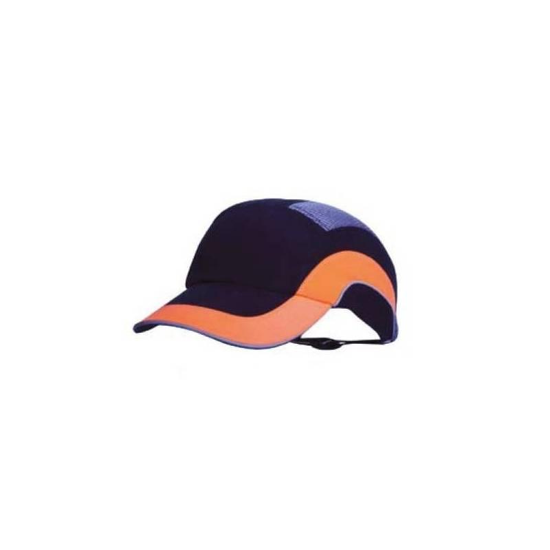 Gorra beisbol A1+ Negro+Naranja