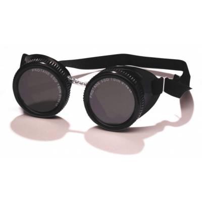 Gafa autógena soplet de copa con ocular redondo de diámetro 50 mm. DIN 5