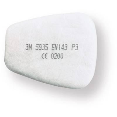 3M 5935 Filtro P3R (necesita retenedor 501). Caja 20 uds.