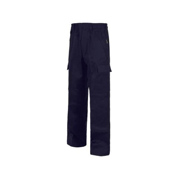 Pantalón ignífugo y antiestático. 100% algodón. EN1149. EN11612.