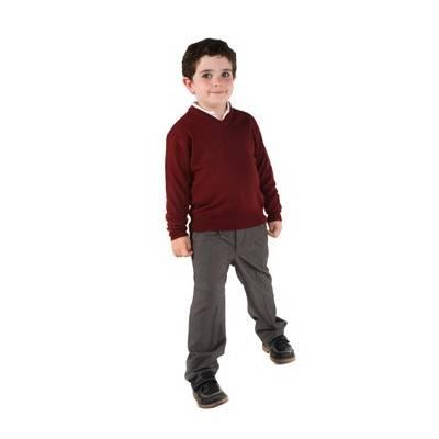 Jersey escolar cuello pico GF0501