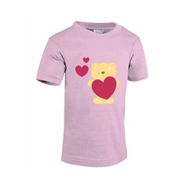 Camiseta para bebe 100% algodón