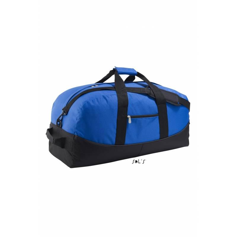 Bolsa de trasporte de poliéster bicolor