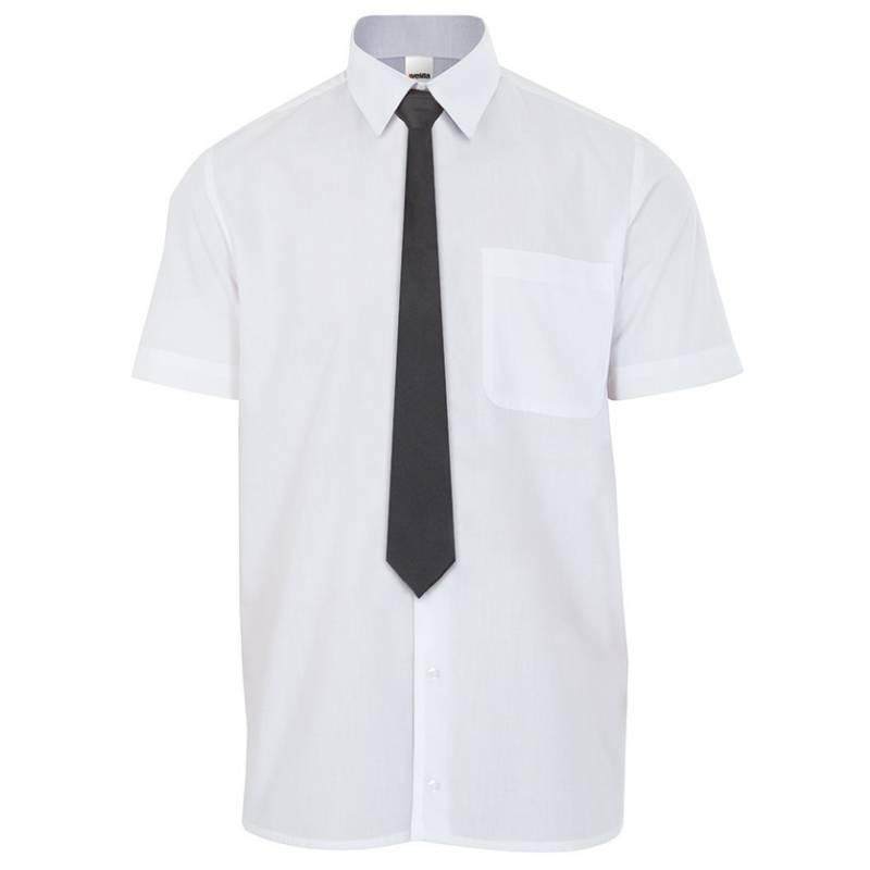 Corbata para camarero sin goma.Color negro.