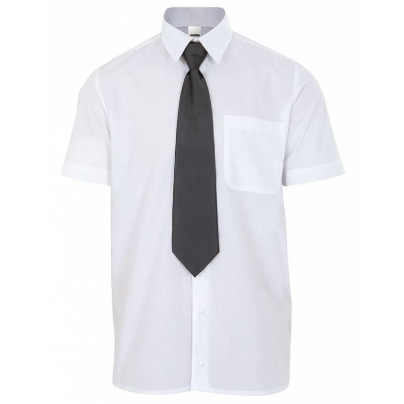 Corbata para camarero con goma.Color negro.