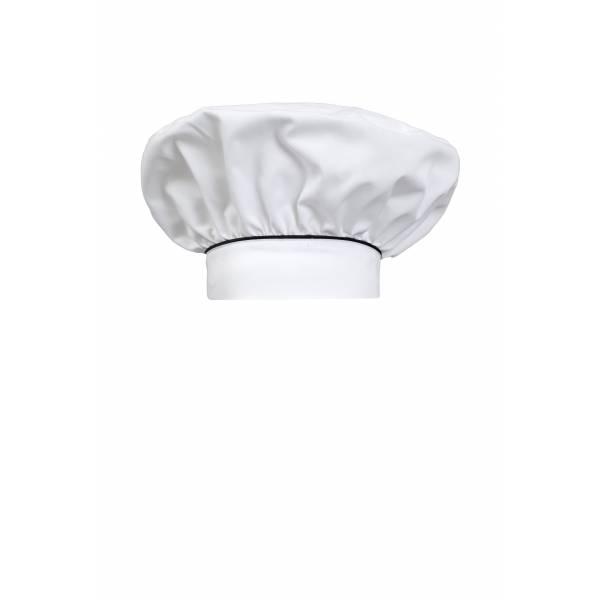 Gorro cocinero franc'es con frunce y velcro