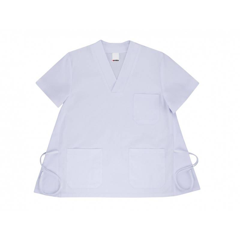 casaca pijama embarazada blanca