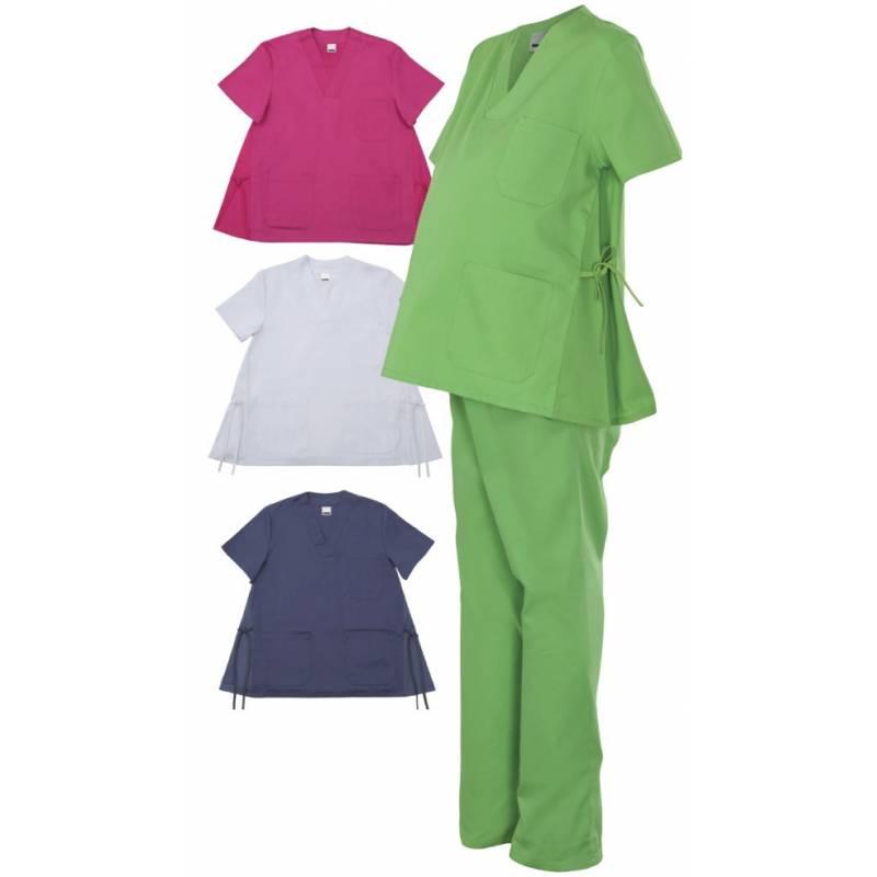 Casaca pijama embarazada en varios colores