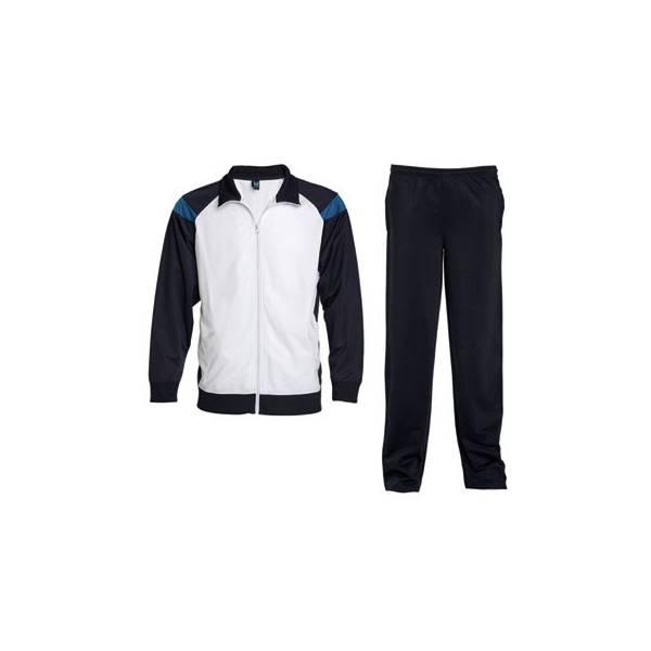 Chandal colores combinados de chaqueta y pantalón