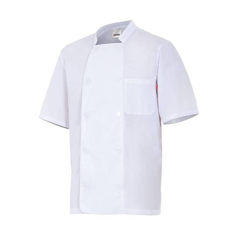Chaqueta cocinero manga corta 405201