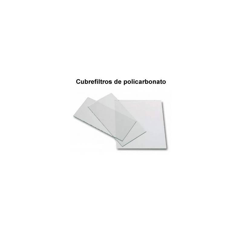Cubrefiltros para soldadura de policarbonato