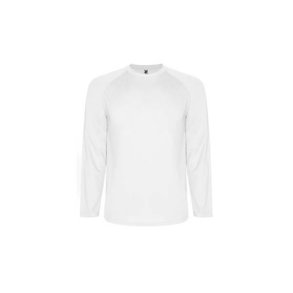 Camiseta de manga larga tejido técnico