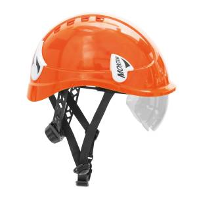 Casco dielectrico de seguridad para trabajos verticales