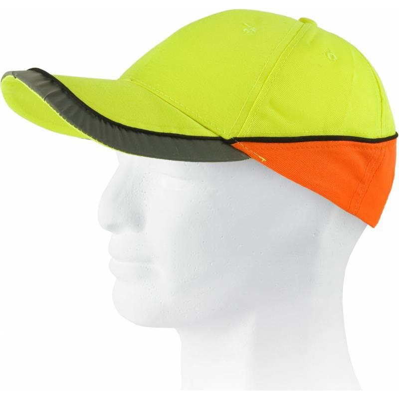 Gorra bicolor de alta visibilidad
