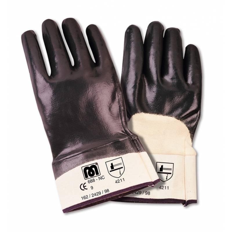 Guante de nitrilo dorso transpirable MA688-NT