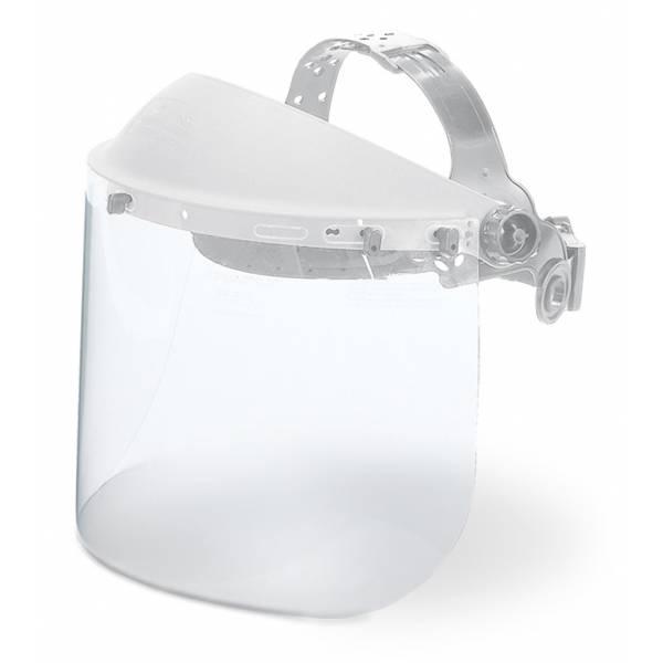 Visor de policarbonato transparente de alta resistencia mod. CRASHER