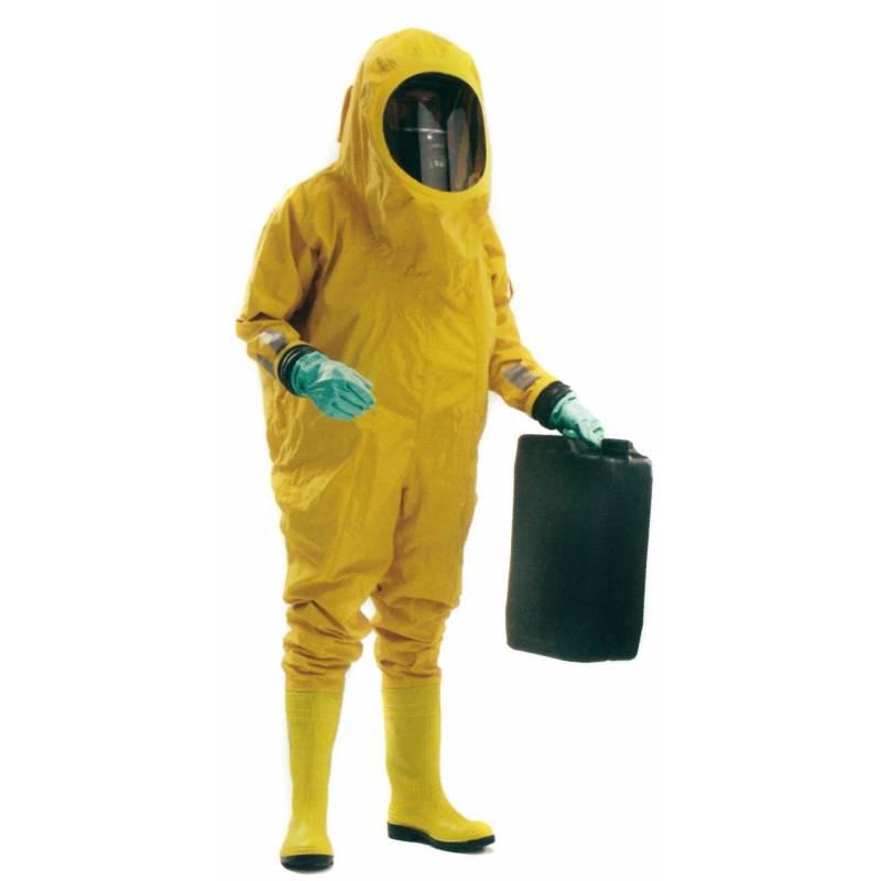Traje rinba scout para riesgos químicos