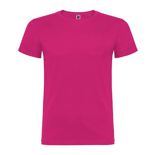 Camiseta de algodón básica de manga corta y cuello redondo