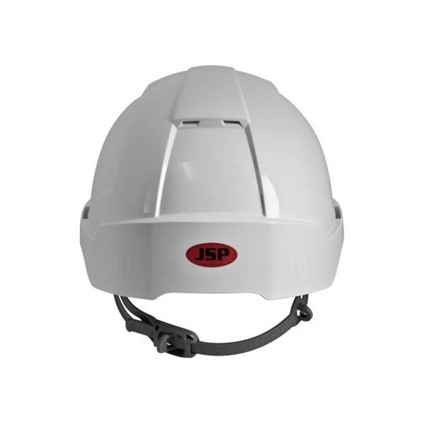 Casco de protección EVO3 Linesman no ventilado, visera corta y ajuste Slip, 6 puntos