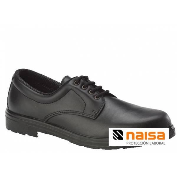 Liquidación. Zapato de piel flor confort sin seguridad