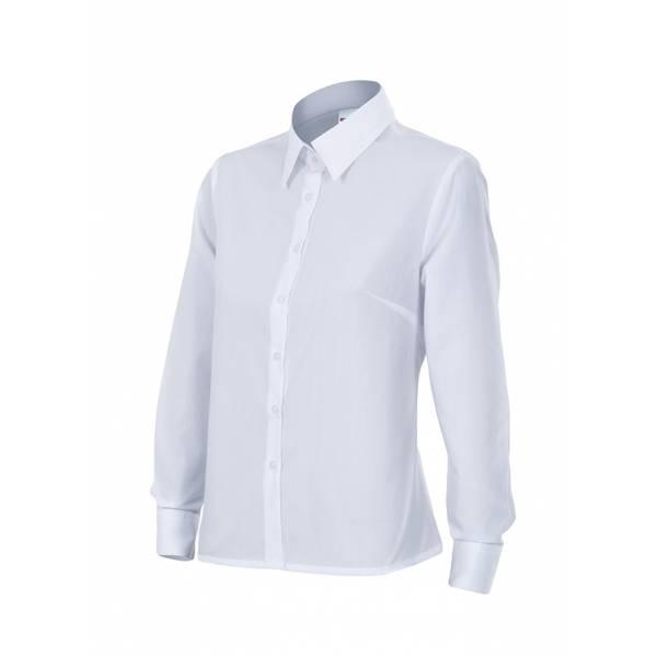 Camisa señora manga larga