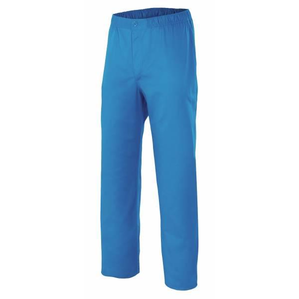 Pantalón con cinturilla elástica y cremallera (colores) - 336