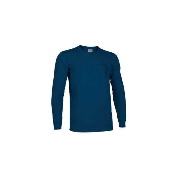 Camiseta TOP manga larga con bolsillo