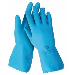 Guante sintético dom safe, latex natural 100%