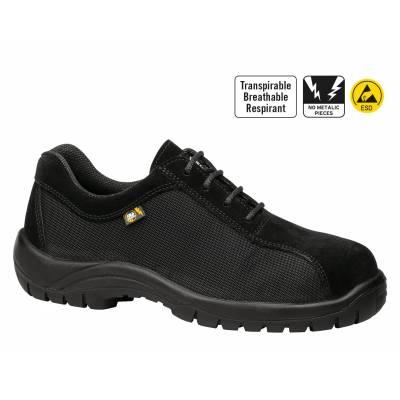 Zapato de seguridad Kyros Top Negro Transpirable S3+SRC+CI