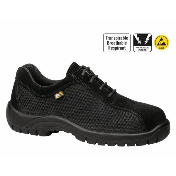 Zapato Kyros Top Negro Transpirable