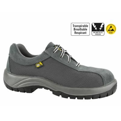 Zapato de seguridad Kyros Top Sport gris transpirable S3+SRC+CI