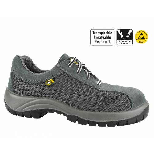 Zapato Kyros Top Sport gris transpirable