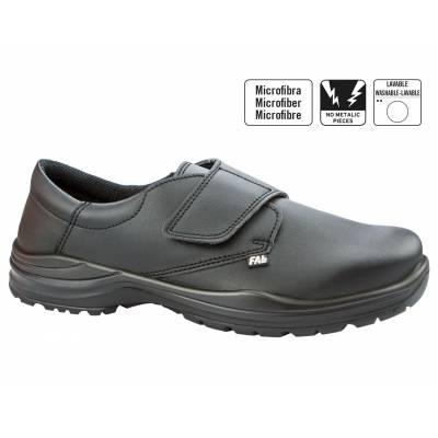 Zapato de caballero confort mod. BARCELONA con cierre de velcro