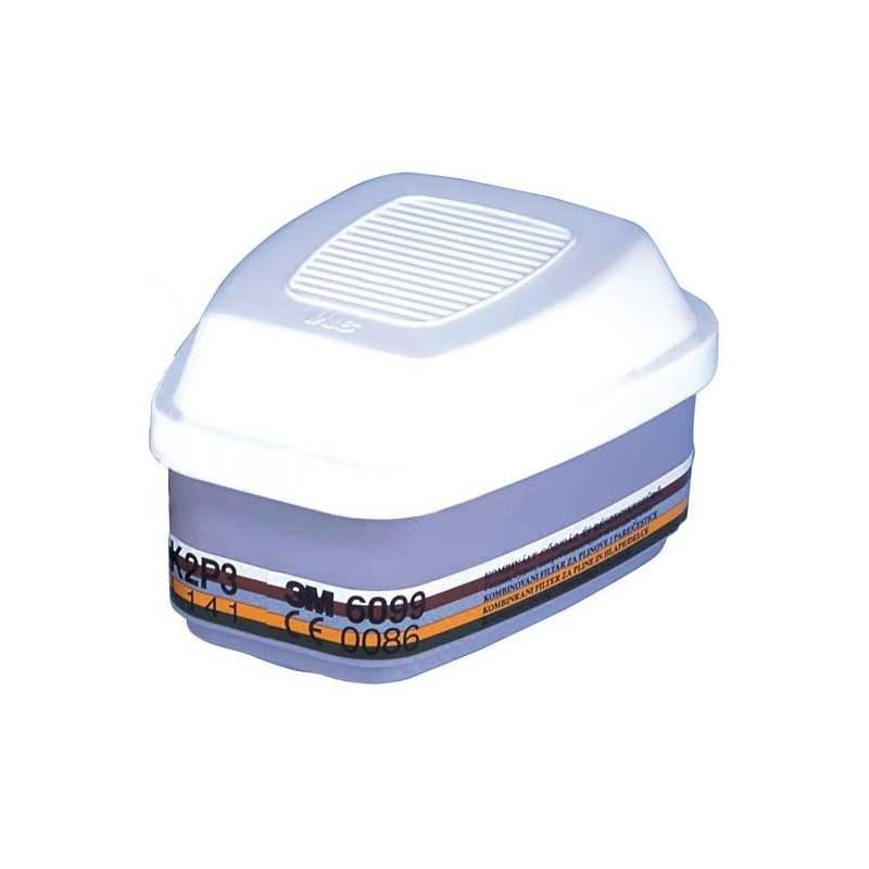 Filtro 3M AXP3 EN 371/EN 143:2000 contra partículas, gases y vapores. Caja 4 uds.