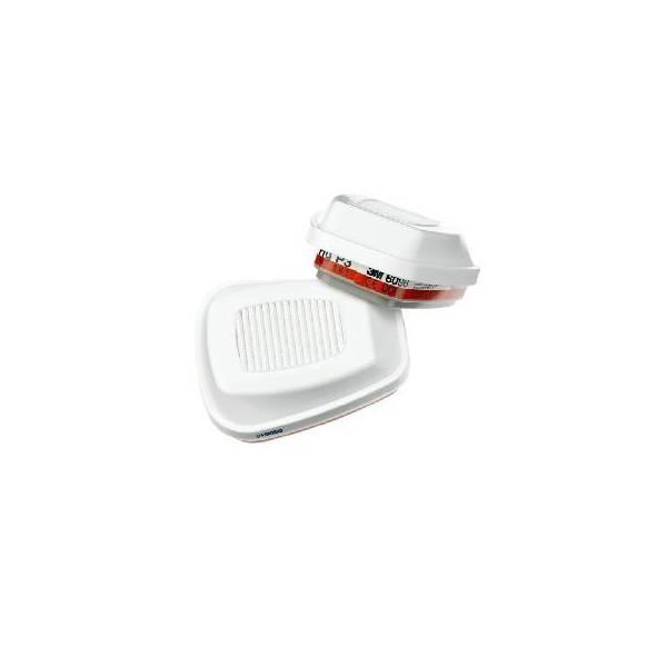 Filtro 3M HGP3 EN 141:2000/EN 143:2000 contra gases y vapores. Caja 4 uds.