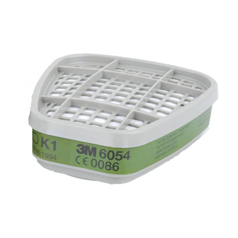 Filtro K1 Clase 1. Contra amoniaco y derivados. Caja 8 uds.