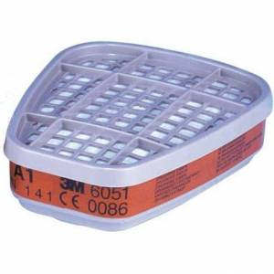 3M 6051 filtro A1 Clase 1. Caja 8 uds.