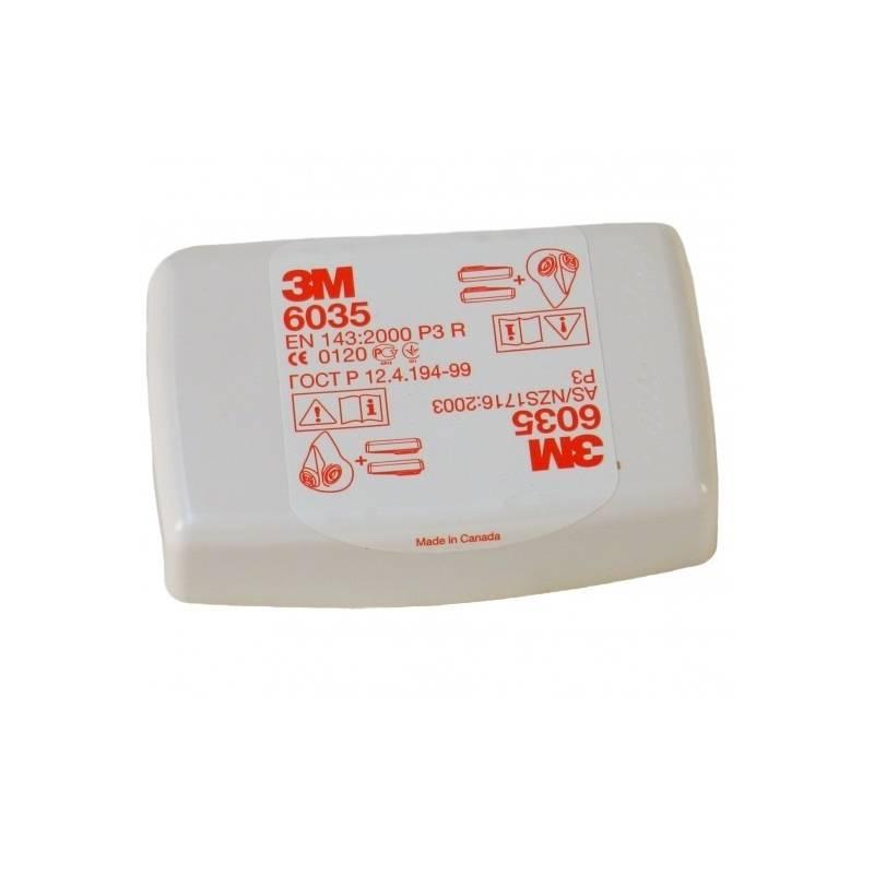 Filtro 3M P3R contra partículas EN 143:2000/A1:2006. Caja 20 uds.