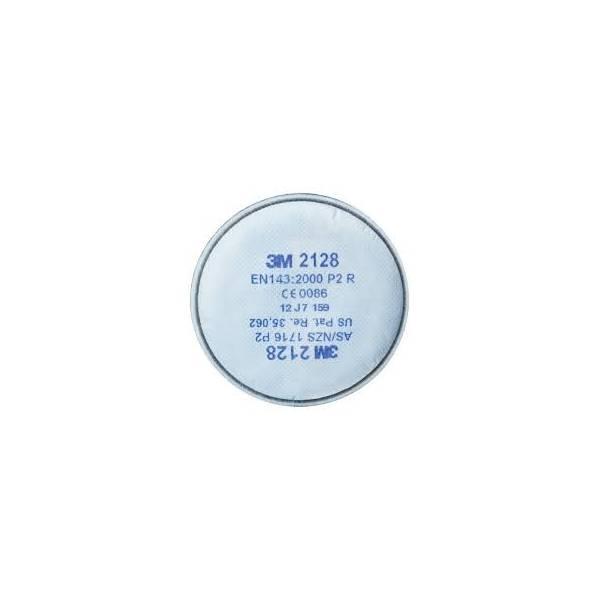 Filtro 3M P2R contra partículas EN 143:2000/A1:2006. Caja 20 uds.
