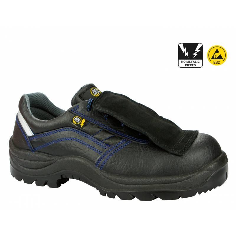 Zapato de seguridad con protección metatarsal