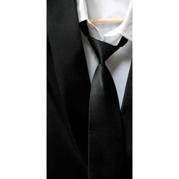 Corbata con goma-52