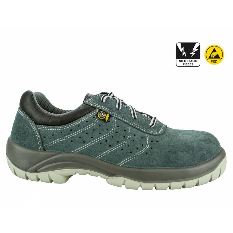 Zapato de seguridad SELLA de serraje S1P