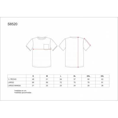 Camiseta en manga corta camuflaje