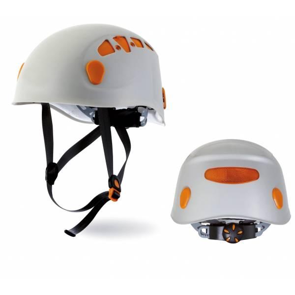 Casco para trabajos en altura con ventilación