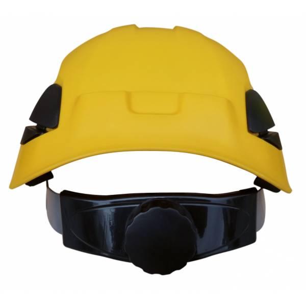 Casco de seguridad con barboquejo y certificado riesgo eléctrico