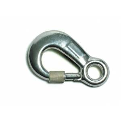 Mosquetón manual de aluminio, apertura 20mm ST80118